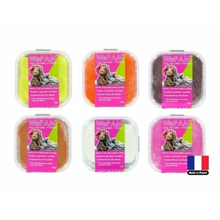 Pâte WePAM - Violet pailleté Wepam - 2