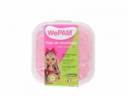 WePam clay - pink glitter Wepam - 1