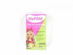 Pâte WePAM - Blanc pailleté Wepam - 1