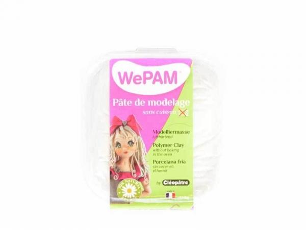 Acheter Pâte WePAM - Blanc pailleté - 3,99€ en ligne sur La Petite Epicerie - 100% Loisirs créatifs