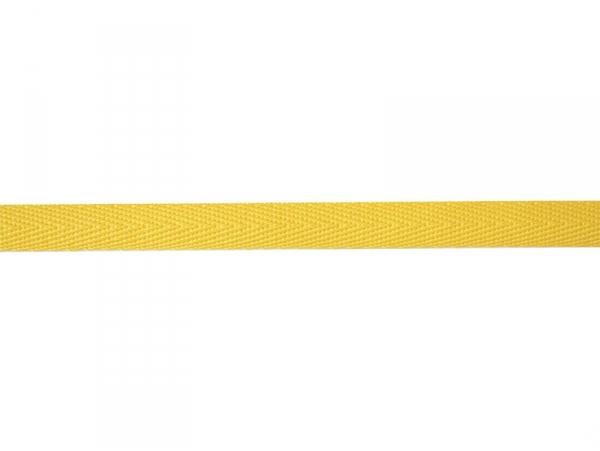 "Bobine 2m de ruban gros grain ""serge"" 10 mm - ambre 081"