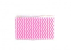 Mini trousse Zig Zag - Rose