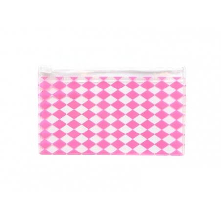 24 Caissettes à cupcake - rayures blanc et rose