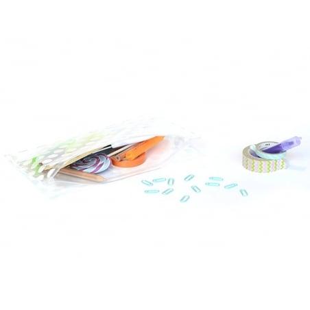 Acheter Grande trousse à pois - Blanche - 2,49€ en ligne sur La Petite Epicerie - Loisirs créatifs