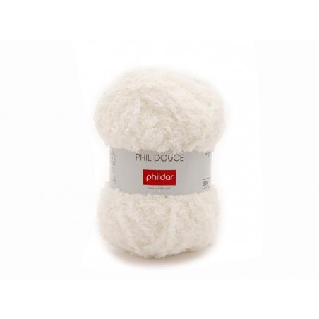 Acheter Laine à tricoter Phil Douce - Ecru - 5,25€ en ligne sur La Petite Epicerie - Loisirs créatifs