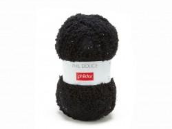 "Knitting wool - ""Phil Douce"" - Black"