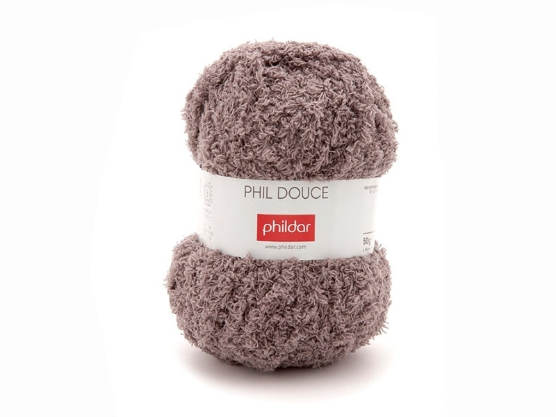 """Knitting wool - """"Phil Douce"""" - Taupe"""