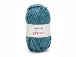 Laine à tricoter Rapido - Denim