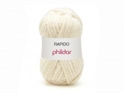 """Strickwolle - """"Rapido"""" - Naturweiß"""