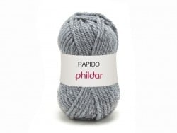 "Knitting wool - ""Rapido"" - Steel grey"
