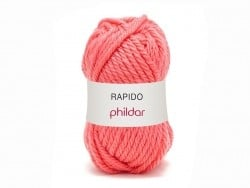 "Knitting wool - ""Rapido"" - Coral"