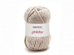 "Knitting wool - ""Rapido"" - Hemp grey"