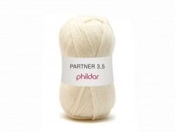 Laine à tricoter Partner 3.5 - Ecru