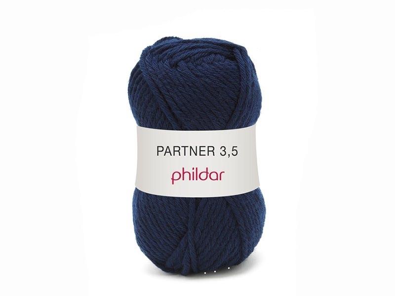 Acheter Laine à tricoter Partner 3.5 - Bleu marine - 3,40€ en ligne sur La Petite Epicerie - Loisirs créatifs