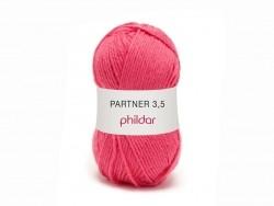 "Knitting wool - ""Partner 3.5"" - Pomegranate"