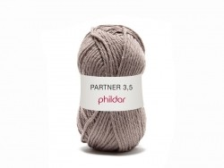 "Knitting wool - ""Partner 3.5"" - Taupe"