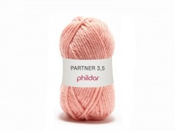 "Knitting wool - ""Partner 3.5"" - Salmon"