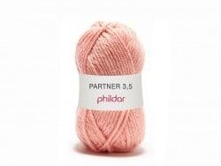 """Knitting wool - """"Partner 3.5"""" - Salmon"""