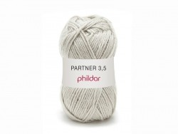 "Knitting wool - ""Partner 3.5"" - Mouse grey"