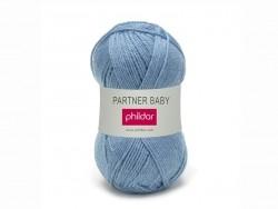 "Knitting wool - ""Partner Baby"" - Jeans blue"