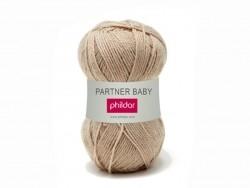 "Knitting wool - ""Partner Baby"" - Flax"