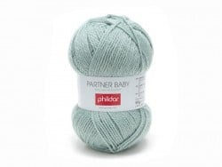 "Knitting wool - ""Partner Baby"" - Sea green"