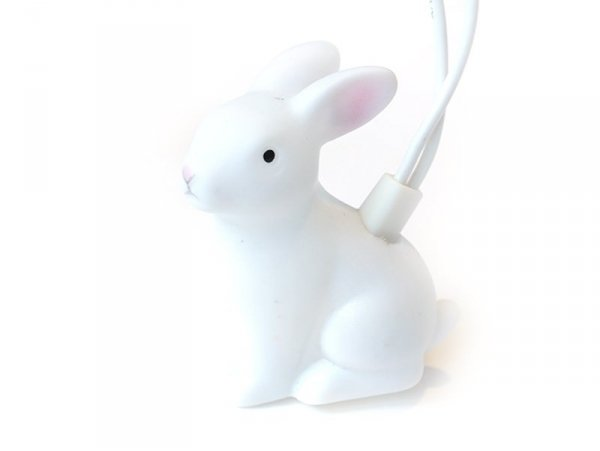 String of party lights - small rabbits