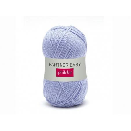 "Knitting wool - ""Partner Baby"" - Lavender"