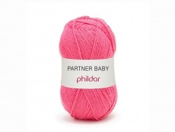 "Knitting wool - ""Partner Baby"" - Fuchsia"