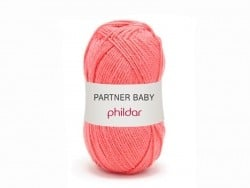 "Knitting wool - ""Partner Baby"" - Coral"