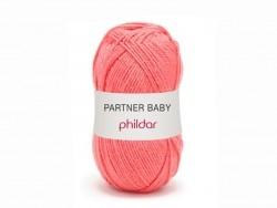 Laine à tricoter Partner Baby - Rose fushia