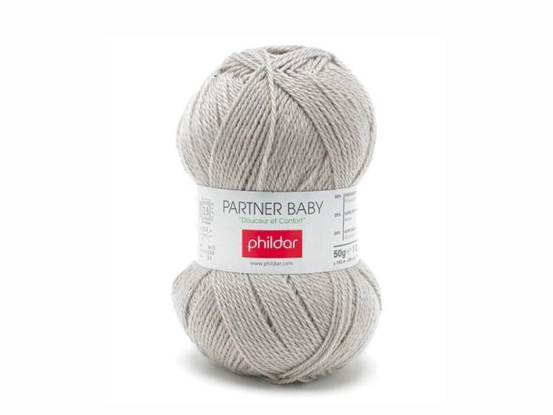 Laine à tricoter Partner Baby - Beige biche