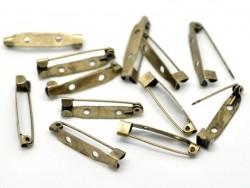Acheter Support de broche couleur bronze 30 mm - 0,39€ en ligne sur La Petite Epicerie - Loisirs créatifs