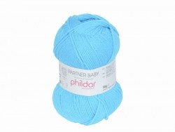 "Knitting wool - ""Partner Baby"" - Arctic blue"