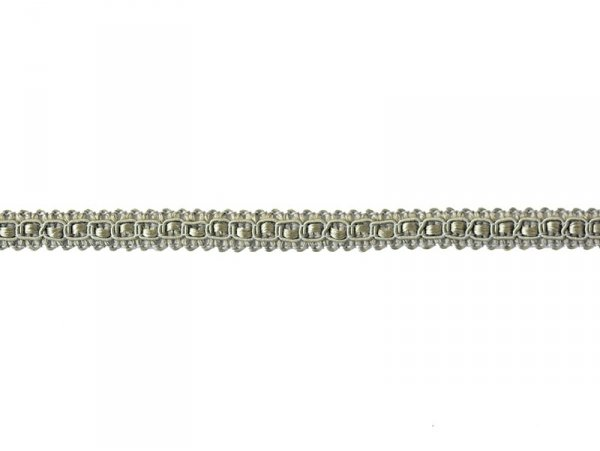 Decorative ribbon spool (2 m) - lace (9 mm) - grey (colour no. 031)
