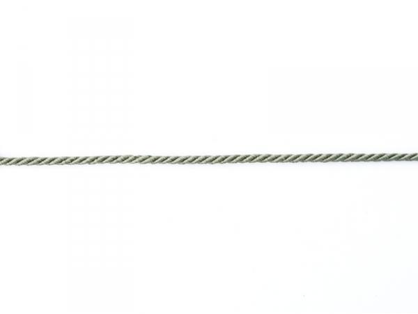 "Bobine 2m de ruban fantaisie ""cordon"" 3 mm - gris 031"