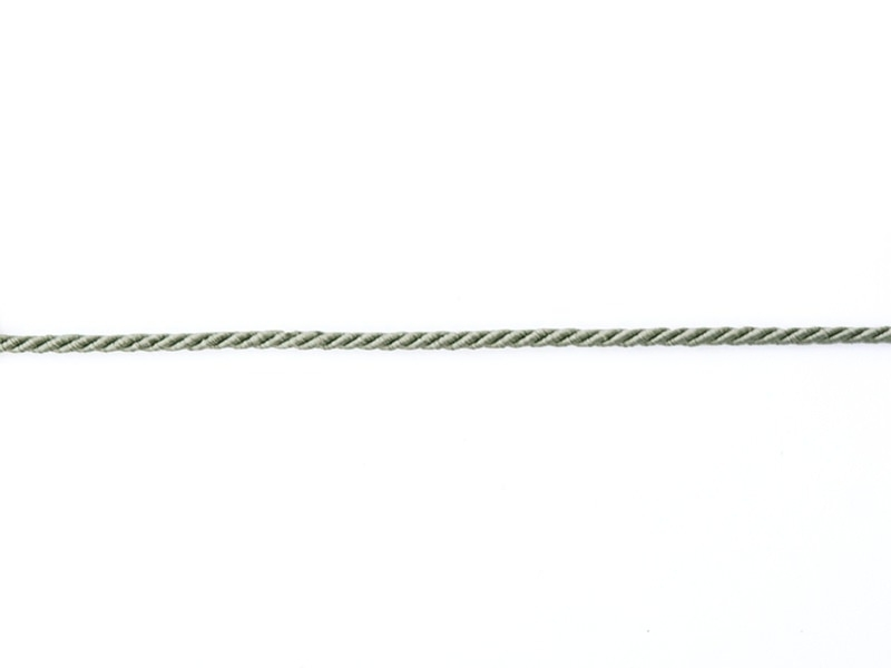 Decorative ribbon spool (2 m) - string (3 mm) - grey (colour no. 031)