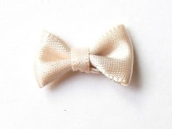 Noeud beige - 3 cm