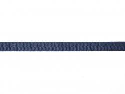 Rolle Ripsband (2 m) - Twill (10 mm) - marineblau (Farbnr. 023)