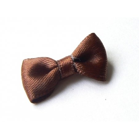 Brown bow - 3 cm