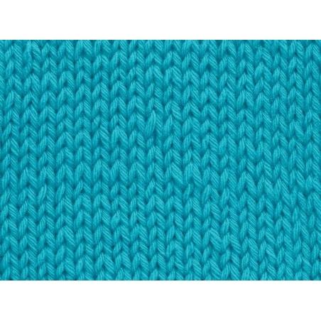 Laine à tricoter Partner 6 - Bleu piscine