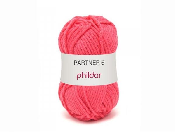 Acheter Laine à tricoter Partner 6 - Rose grenadine - 3,75€ en ligne sur La Petite Epicerie - Loisirs créatifs
