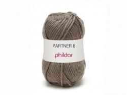Laine à tricoter Partner 6 - Rouge cerise