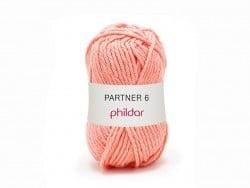 Laine à tricoter Partner 6 - Saumon