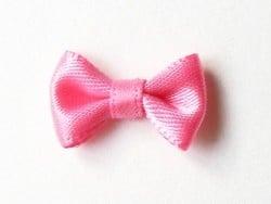 Rosafarbene Schleife - 3 cm