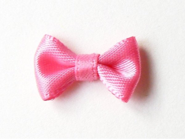 Pink bow - 3 cm