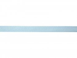 Woven Grosgrain ribbon spool (2 m) - Twill (10 mm) - sky blue (colour no. 002)