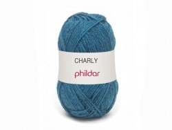 "Knitting wool - ""Charly"" - Jeans blue"