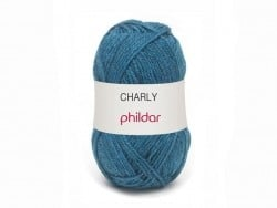 Laine à tricoter Charly - Blanc