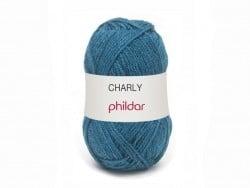 Laine à tricoter Charly - Bleu jean